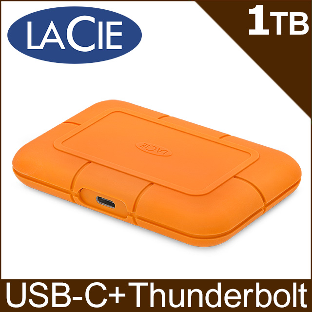 LACIE Rugged SSD 1TB USB 3.1 Type C & Thunderbolt 2.5吋SSD行動硬碟