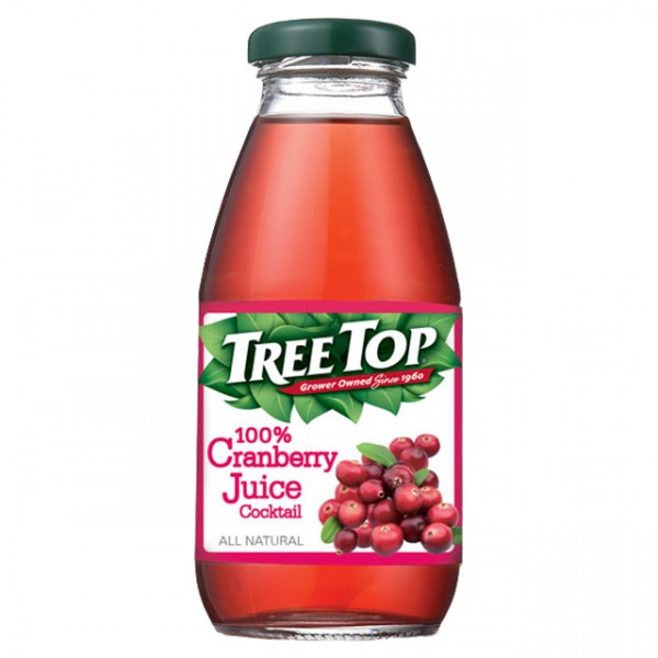 《TreeTop》樹頂100%蔓越莓綜合果汁(300mlx2...