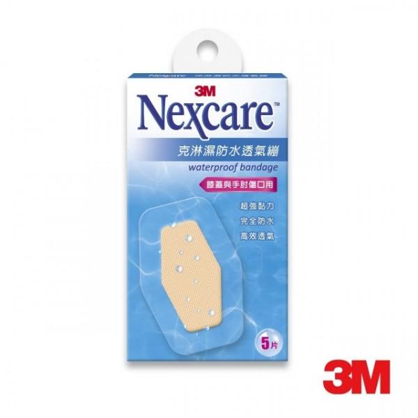 3M  Nexcare  克淋濕防水透氣繃-膝蓋與手肘適用 ...