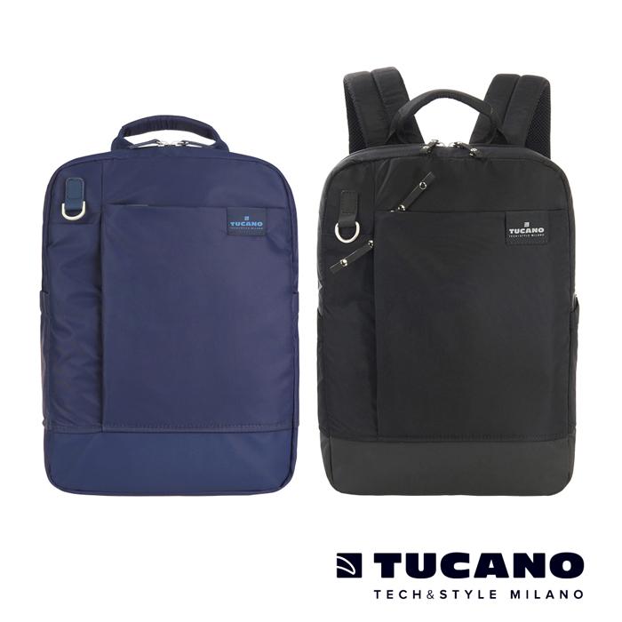 TUCANO AGIO 13吋極簡都會商務後背包藍