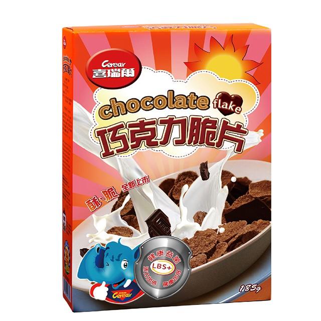 喜瑞爾-巧克力脆片185g