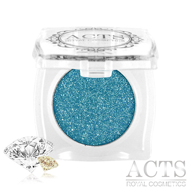 ACTS維詩彩妝 魔幻鑽石光眼影 藍綠晶鑽D411