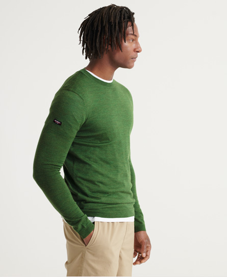 Superdry Edit Merino Crew Jumper