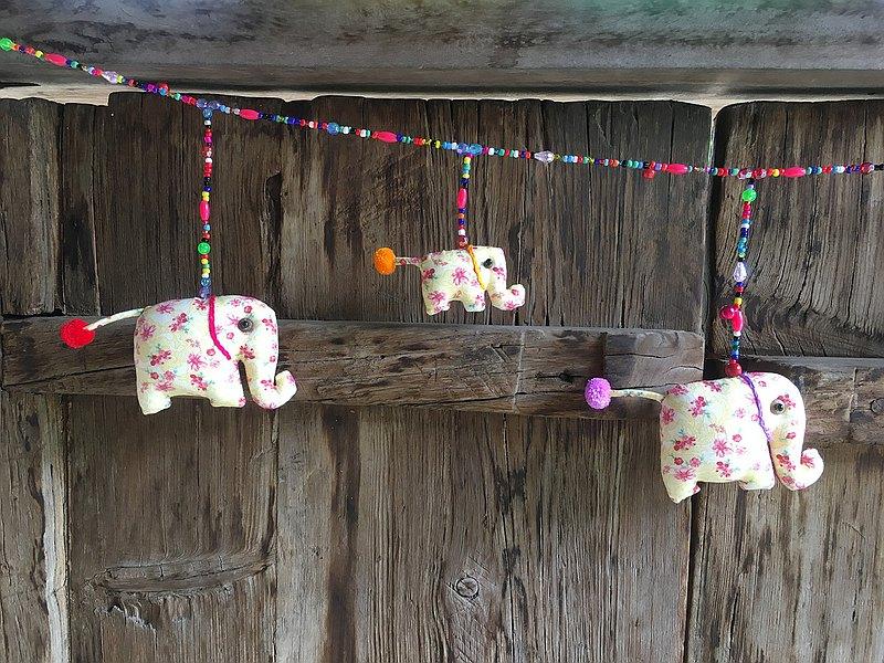 可移動的大象娃娃,水平5個