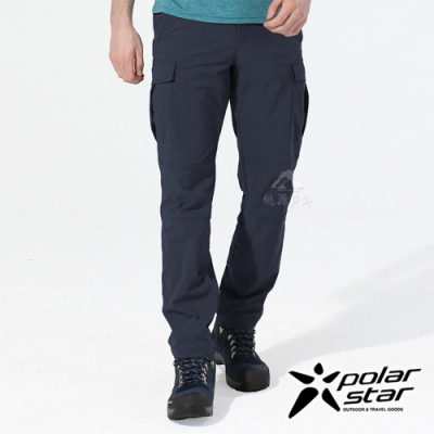 PolarStar 中性 彈性抗UV長褲『深藍』P20353