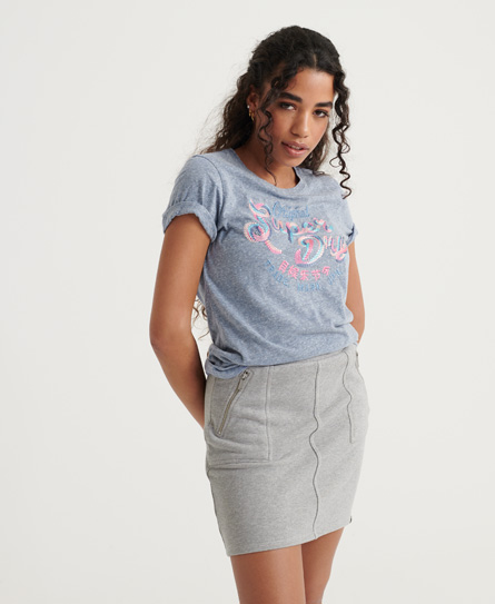 Superdry Original Multi Embroidery T-Shirt