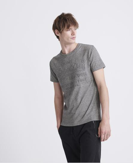 Superdry Shirt Shop Embossed T-shirt