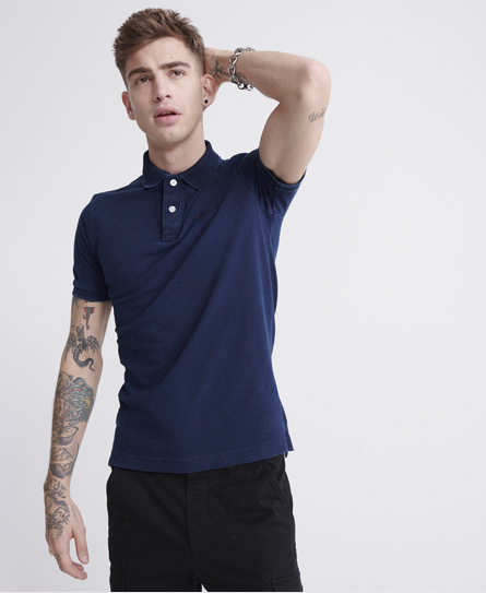 Superdry Classic Pique Short Sleeve Polo Shirt