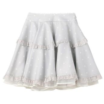 【ロディスポット/LODISPOTTO】 Candyドットレトロドールスカート / mille fille closet