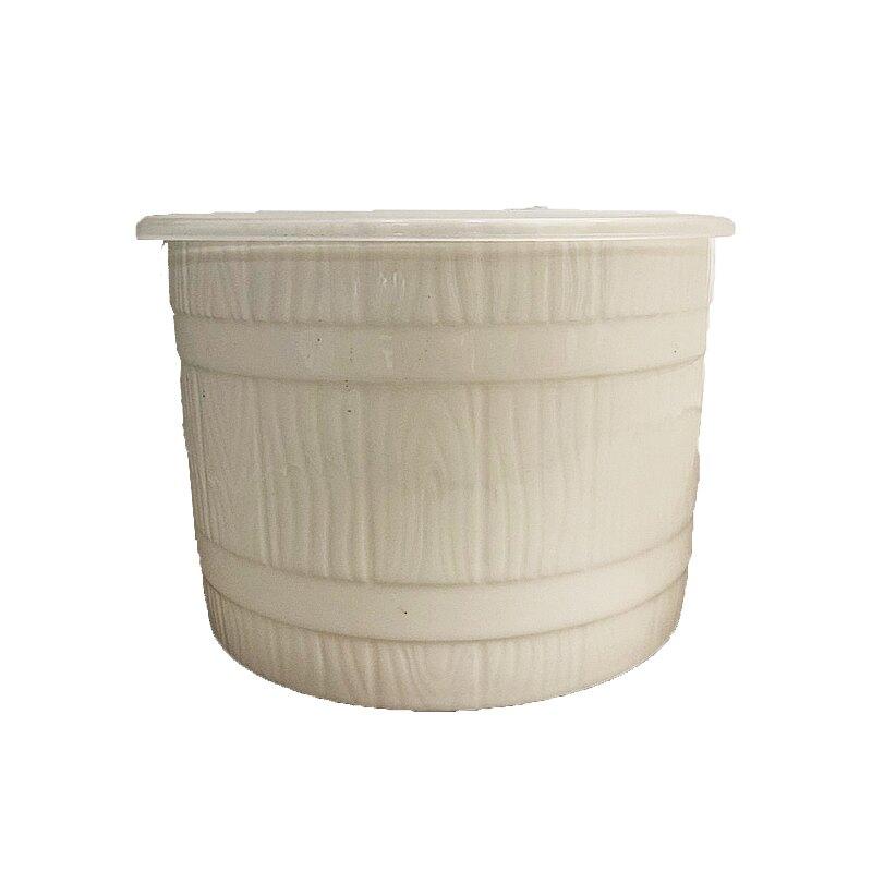 6吋白玉橡木桶保鮮盒1200ml【康鄰超市】