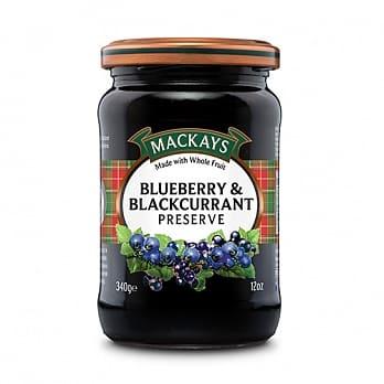 [蘇格蘭 Mackays] 藍莓黑醋栗果醬 (340g/罐)