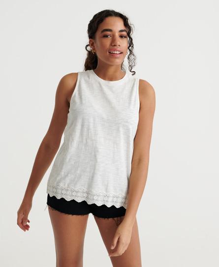 Superdry Lace Mix Vest Top