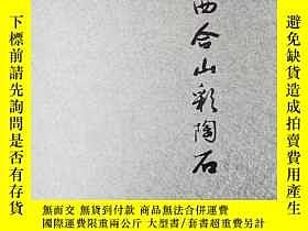 二手書博民逛書店罕見廣西合山彩陶石(銅版彩印,精裝有函套)Y247386 韋加和