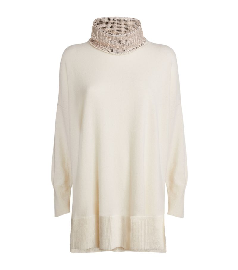 William Sharp Embellished Rollneck Sweater