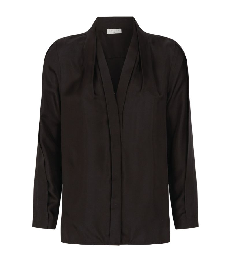 Sandro Paris Silk Blouse