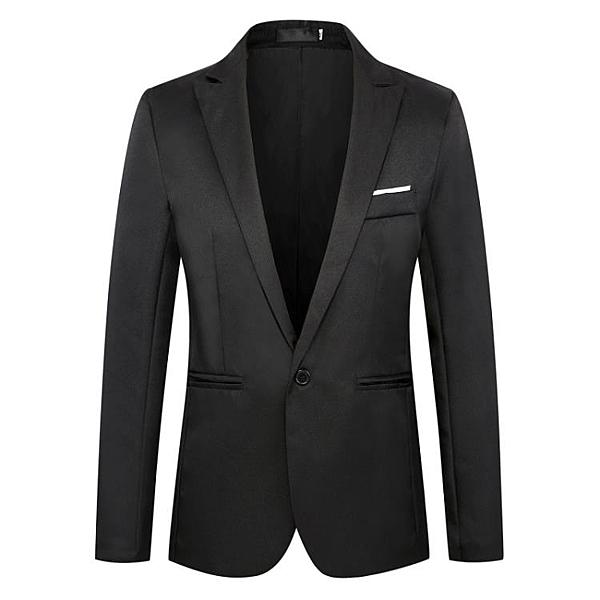 西裝外套男 春夏季薄款男式加肥加大碼西服外套純色修身大號單西多色胖子西裝 寶貝計畫