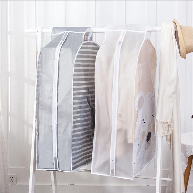 小清新印花立體衣物防塵罩可掛式防皺防塵套(小款
