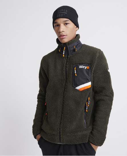 Superdry Celsius Sherpa Track Top