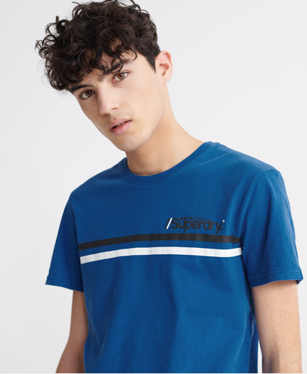 Superdry Core Logo Sport Stripe T-Shirt