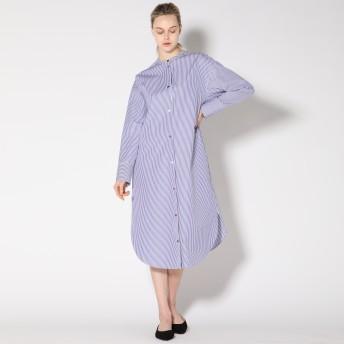 ESSEN.LAUTREAMONT(エッセン ロートレアモン)/【雑誌掲載】フィンクスウェザーロングシャツドレス