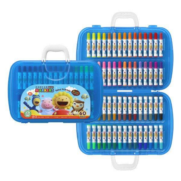 雄獅 奶油獅 彩色筆(A盒)-閃亮亮版(多款-大盒)