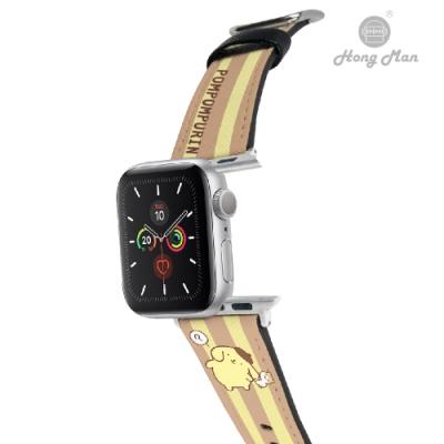 三麗鷗系列 Apple Watch 皮革錶帶 布丁狗 倉鼠小夥伴 38/40mm