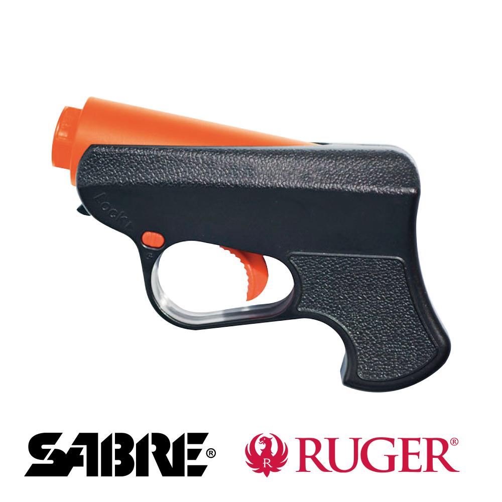 戰術防身槍-RUGER聯名款-美國SABRE沙豹防身噴霧器