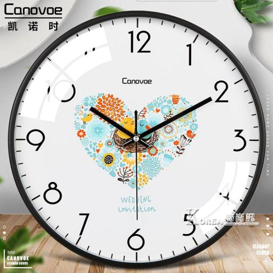 掛鐘客廳臥室現代簡約掛牆創意時尚大氣時鐘靜音石英鐘錶掛錶家用