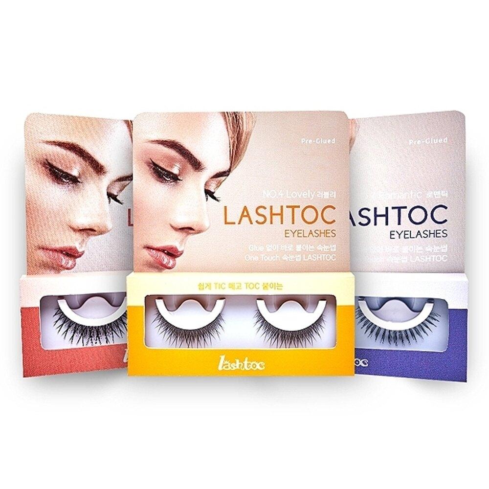 韓國 LashToc 自黏式假睫毛(1對入) 款式可選【小三美日】◢D010574