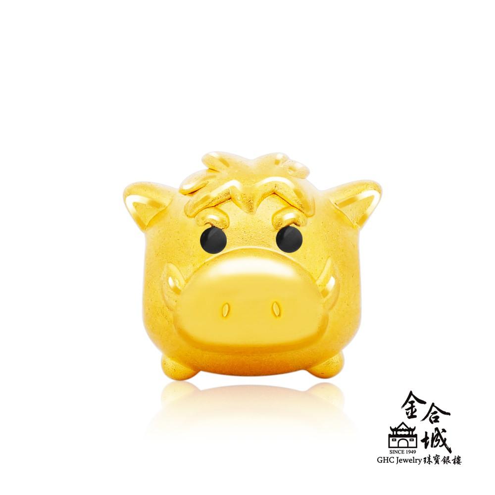 【迪士尼金飾】TSUM系列-澎澎金珠手串珠 TSUMD034(金重約0.33錢)