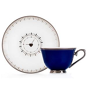 【Royal Duke】骨瓷濃縮咖啡對杯-心動時刻(二杯二碟)