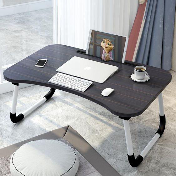 床上桌-床上小桌子多功能筆記本電腦桌學生學習書桌可折疊簡易懶人桌家用