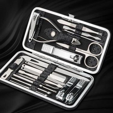 修剪指甲刀套裝家用不銹鋼耳勺指甲鉗修甲工具修腳指甲剪單個德國