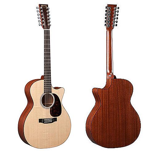 Martin GPC12PA4 嚴選錫特卡雲杉單板 沙比利木背側面板 12弦吉他 - 附琴盒/原廠公司貨