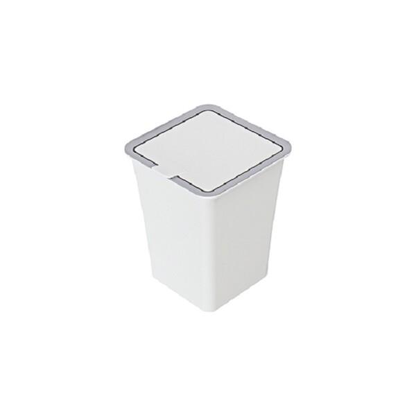 台灣製造 (中)吉納掀蓋垃圾桶