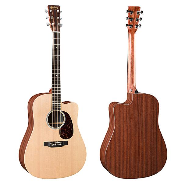 Martin DCX1AE 嚴選錫特卡雲杉單板 HPL背側面板吉他 - 拾音器 Fishman® Sonitone/原廠公司貨