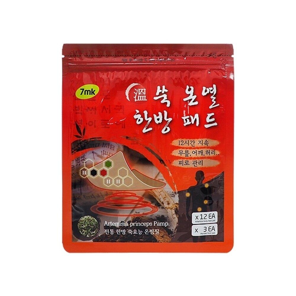 韓國7mk 暖宮貼(艾草小太陽貼/方形貼)【小三美日】◢D051098