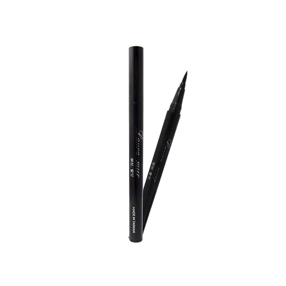 Lauramier勞拉蜜兒 極細狠黑完美眼線液筆(1g)【小三美日】◢D571076