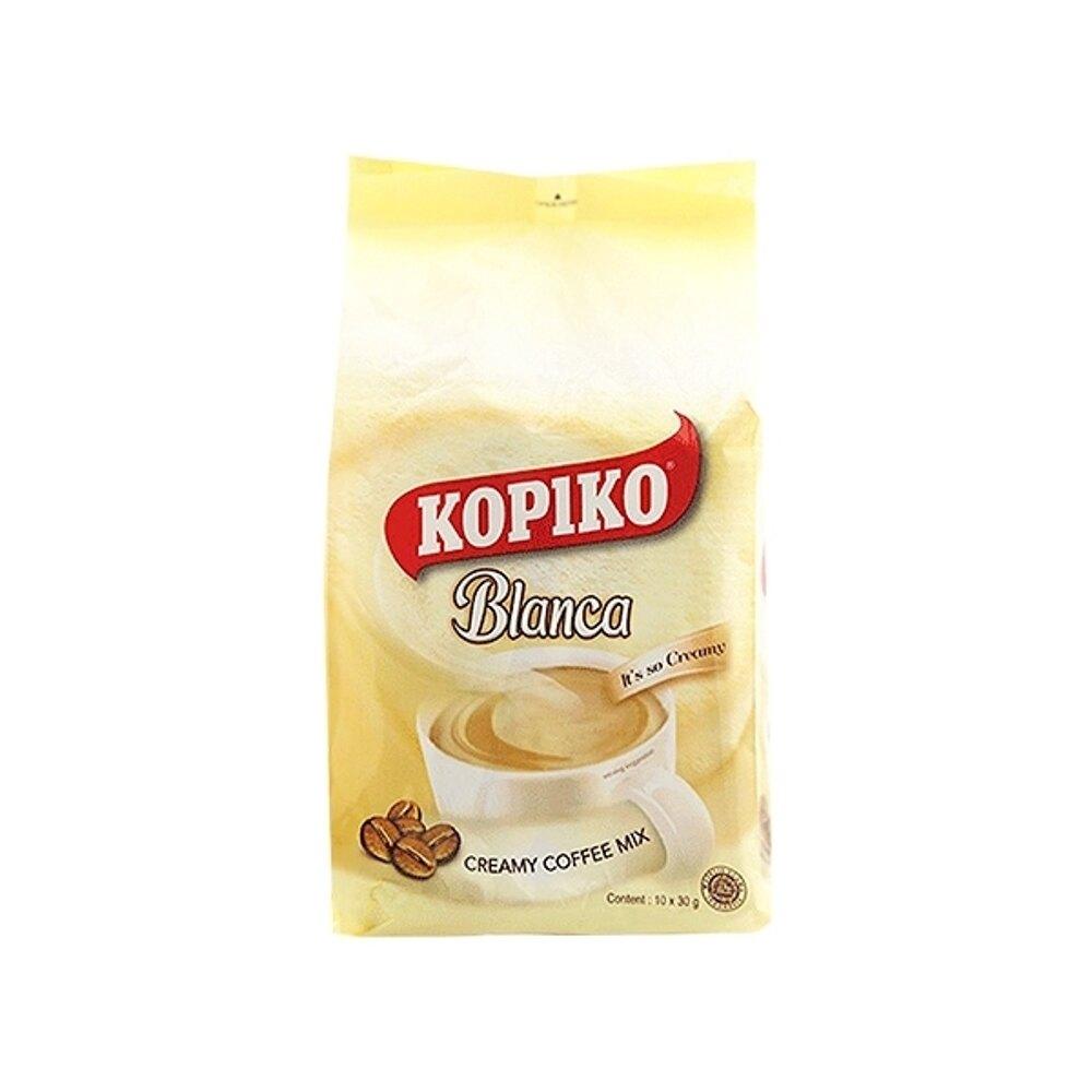 印尼 KOPIKO 三合一即溶白咖啡(300g)【小三美日】◢D414316