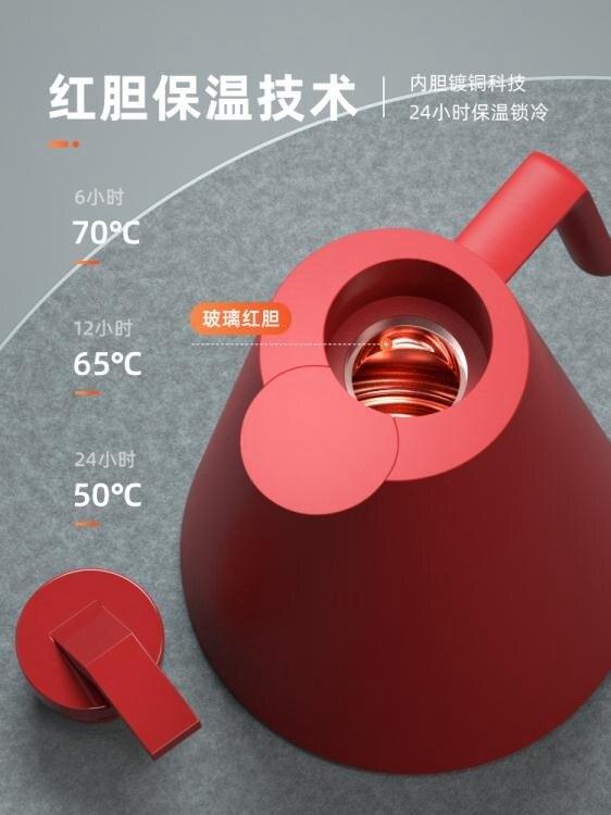 熱水壺保溫壺家用歐式保溫水壺大容量玻璃內膽暖水壺熱水瓶小暖壺