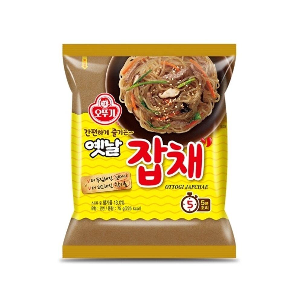 韓國不倒翁 乾拌冬粉(73g)【小三美日】泡麵/進口/ 團購◢D480060