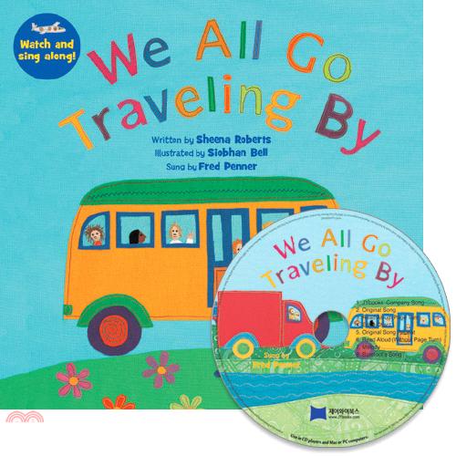 We All Go Traveling By (1平裝+1 CD)(韓國JY Books版)【三民網路書店】[79折]