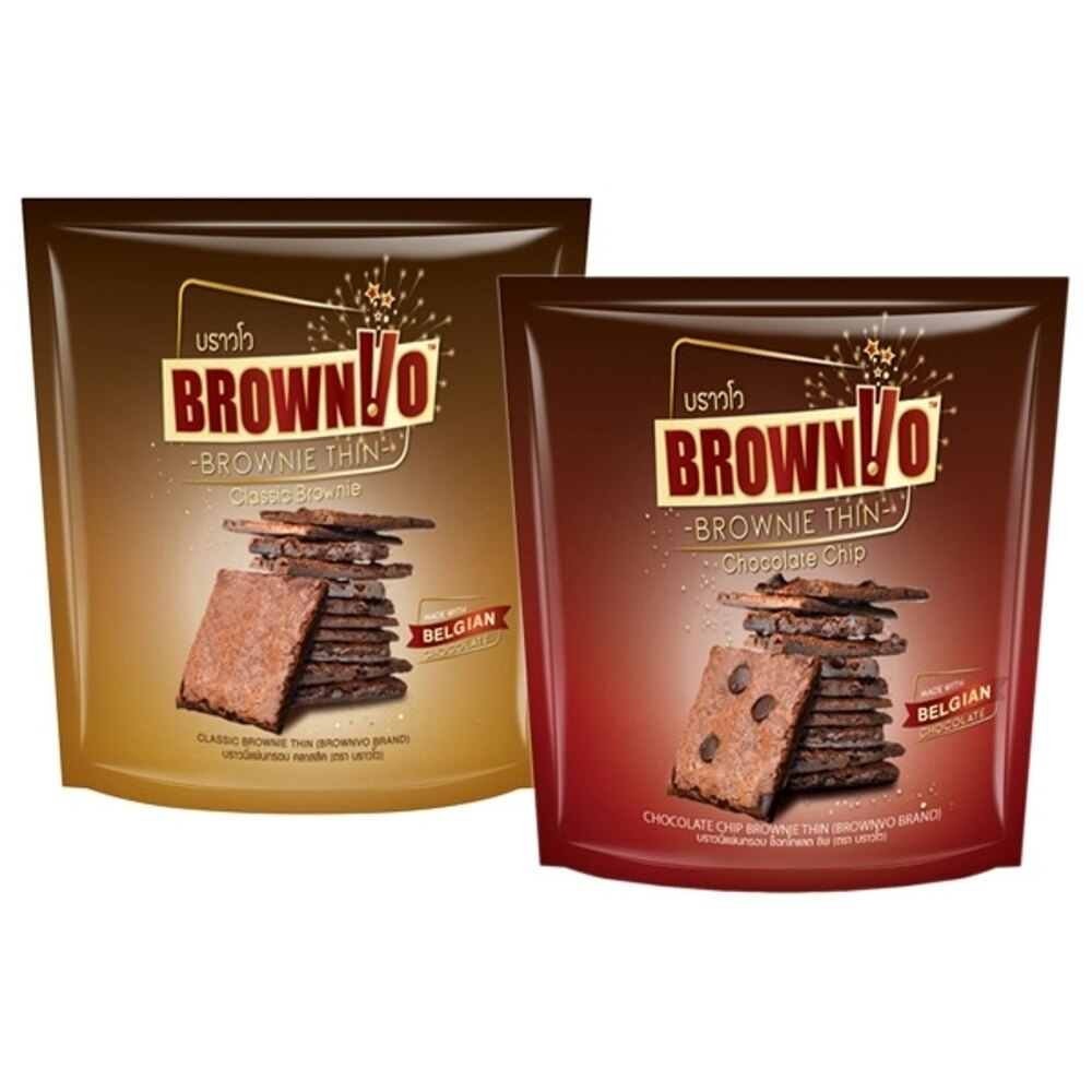 BROWNVO 經典原味/巧克力脆皮 布朗尼(1包入) 款式可選【小三美日】◢D404880
