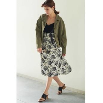 【フリーズマート/Free's Mart】 ◆サスペンダー付花柄プリーツスカート