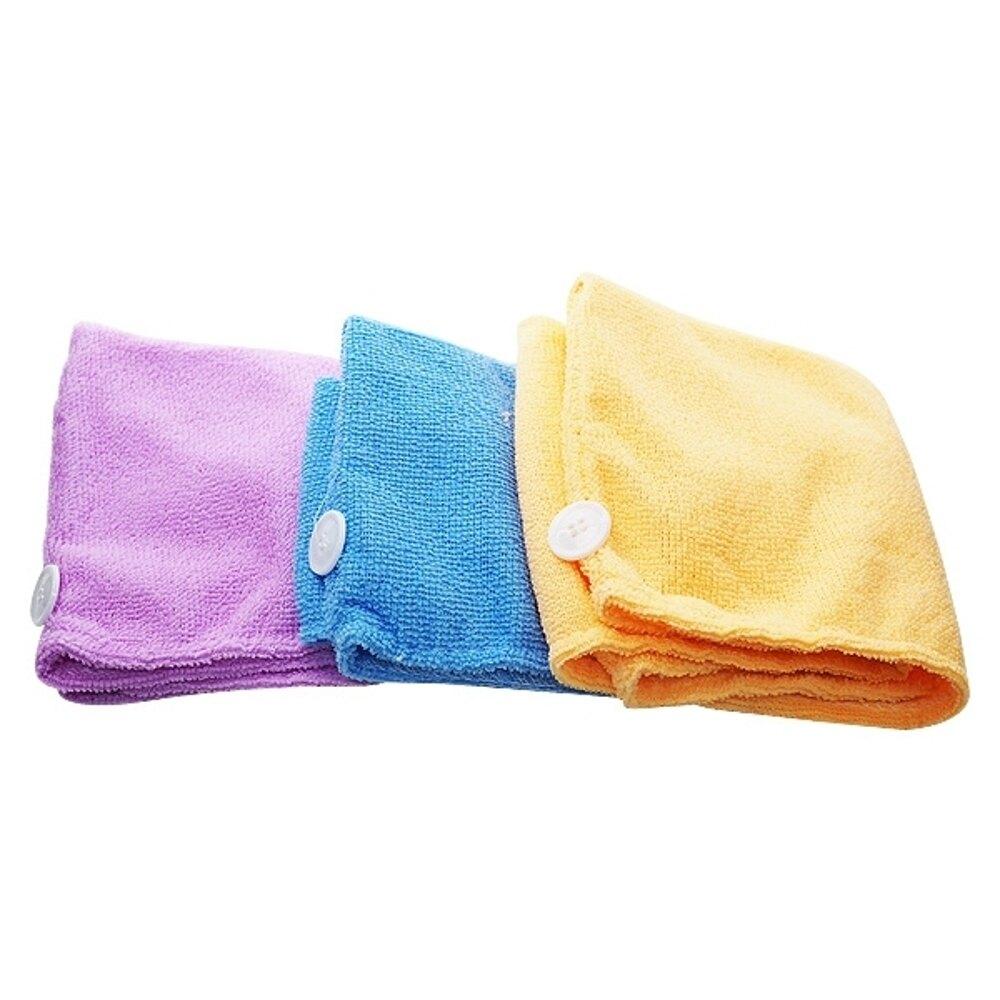 超強吸水性神奇乾髮帽(1入) 顏色隨機出貨【小三美日】◢D514005