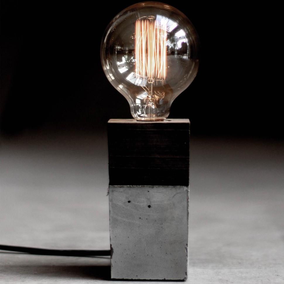 【曙】工業風水泥桌燈 原木質感桌燈 造型檯燈 Loft 工業風 咖啡廳 民宿 餐廳 居家擺設