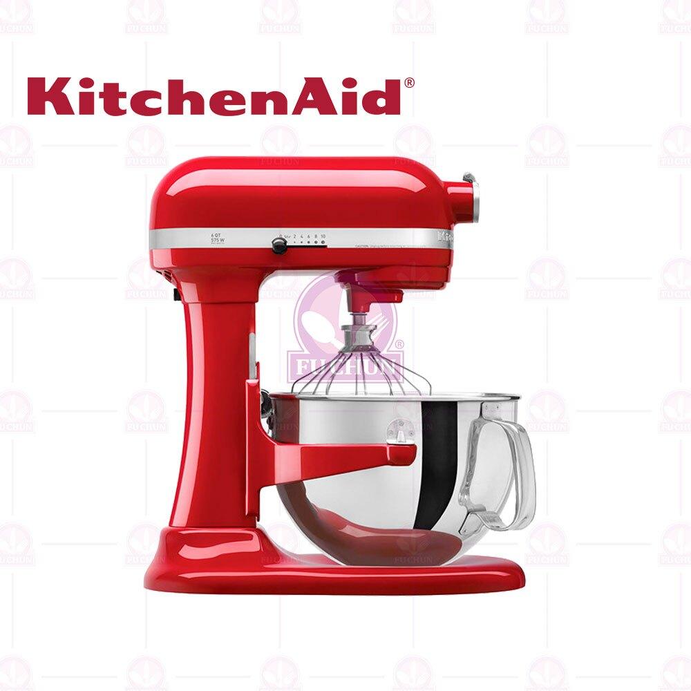 【KitchenAid】5Qt 升降式攪拌機 (紅色) 4.8L/富春餐具