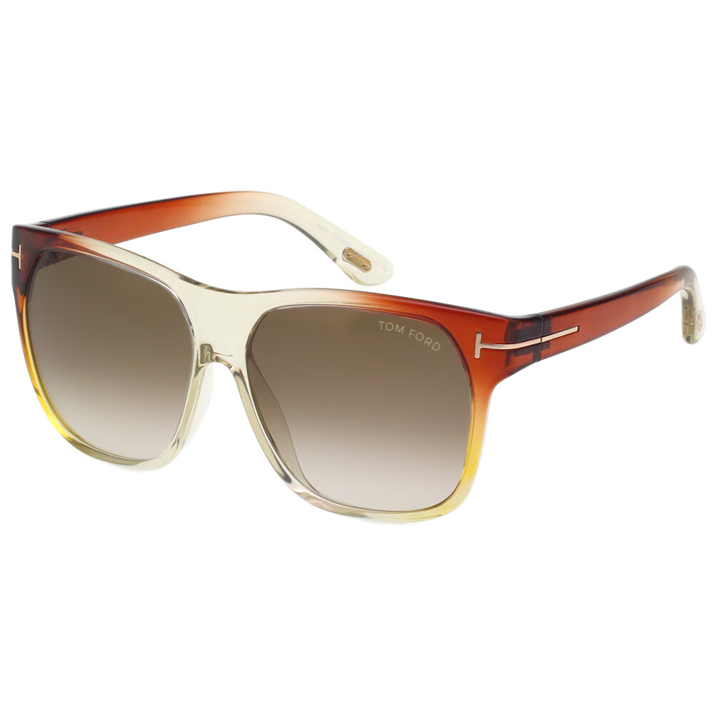 tom ford 造型 太陽眼鏡(橘紅色)