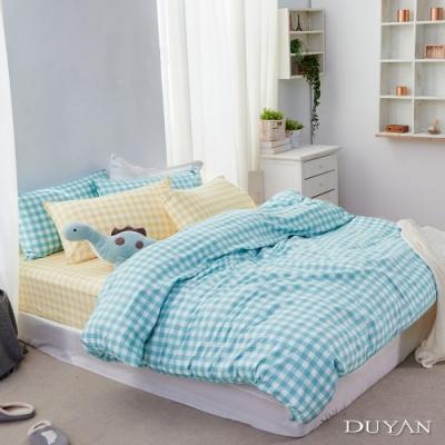 DUYAN竹漾-100%精梳純棉-雙人床包三件組-流光精靈 台灣製