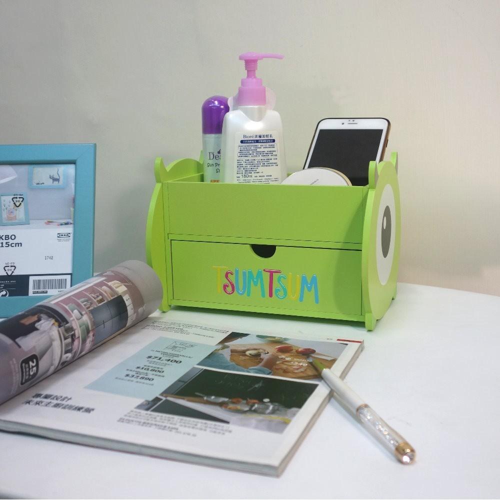 [one生活]迪士尼-大眼仔造型收納櫃/桌上收納盒/筆盒499專案